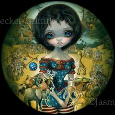 Bosch Circus | Art by Jasmine Becket-Griffith
