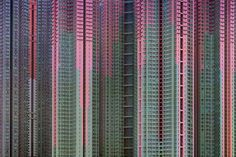 German photographer Michael Wolf's series, 'Architecture of Density', captures Hong Kong's crowded urban landscape. Pictured is 'Architecture of Density Courtesy of Flowers Gallery © Michael Wolf Pattern Dots, Doodle Pattern, Colour Pattern, Pattern Design, Hong Kong Architecture, Urban Architecture, Space Architecture, Amazing Architecture, Contemporary Architecture