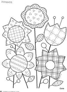 Applique Patterns, Applique Quilts, Applique Designs, Quilt Patterns, Sewing Patterns, Patch Quilt, Quilt Blocks, Crazy Quilting, Vintage Embroidery