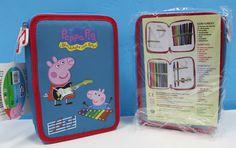 Plumier de Peppa Pig & George Doble