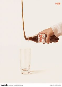 Great idea and great footage in esthetic of cocacola. I really admire the brains behind cocacola.