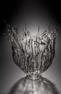 Sally Prasch, Splash, 2002 Corning Museum of Glass (Technique: Flameworking)
