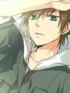 Anime boy, brown hair, green eyes; Anime Guys Please tell me the name of this Anime and/or character if you know