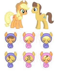 MLP Foal Adoptables 2 - Open by Momma-Ran.deviantart.com on @DeviantArt