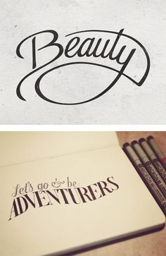 Hand Lettering by Sean McCabe | Inspiration Grid | Design Inspiration