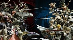 Dissidia: Final Fantasy Gameplay Revealed - IGN Live: E3 2017: The first look at Lightning, battle footage and costume variants in…