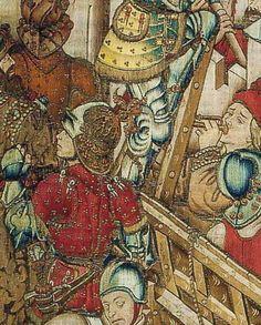 """des tapisseries """"Histoire d'Alexandre"""" et """"la vie de césar"""", Flandres/Bourgogne 1460-1470"""