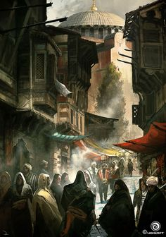 Constantinople Market - Characters & Art - Assassin's Creed: Revelations