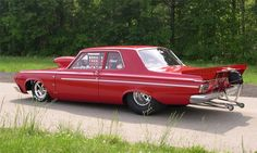 1964 Plymouth Savoy Max Wedge Drag Car