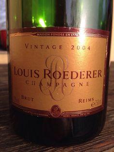 2004 Louis Roederer Vintage