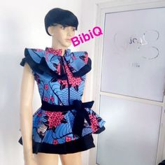 There's something very stylish and elegant about Ankara peplum tops, these beautiful designs will add that extra flare needed to take your style to a complete new level. The Ankara…