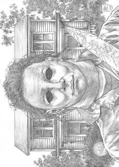 Michael Myers Halloween Night Pencils dibujos blanco y negro Badass Drawings, Creepy Drawings, Halloween Drawings, Halloween Quilts, Horror Icons, Horror Art, Horror Movie Characters, Horror Movies, Halloween Horror