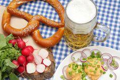 Homemade soft pretzel recipe for Oktoberfest