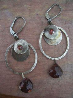 Hoop Earring Design Ideas | Hoop earrings | Stuff I want to Do ...