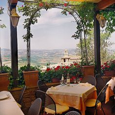 Restful Retreat! ~ Olives, roses & the Umbrian, Italian landscape stretched out before you with a view that leaves you breathless & makes you feel on top of the world!