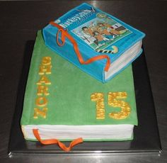 Verjaardagstaart Boeken / Lezen Birthday Cake books / reading