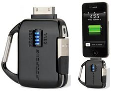 HOT! Scosche flipCHARGE burst Emergency Battery for iPhone and iPod @thegadgeteer