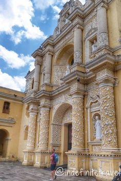 Antigua, Guatemala - Must sees! Iglesia de la Merced