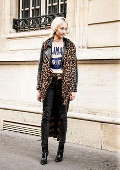 #SooJoo looking brilliant. #offduty in Paris. #SooJooPark