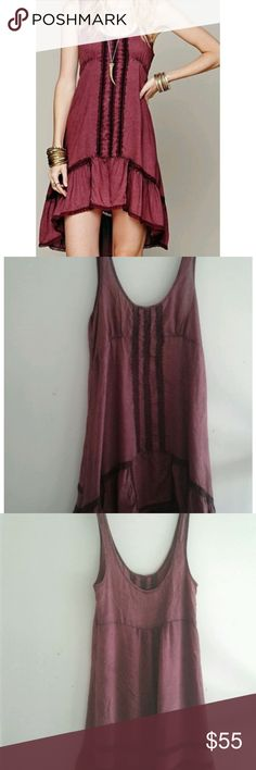 Free people Parisian slip dress Free people Parisian slip dress in excellent used condition smoke free pet free home Free People Dresses