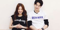 Lee Sung Kyung & Nam Joo Hyuk for Nylon Korea - Yoonmin, Weightlifting Kim Bok Joo, Nam Joo Hyuk Lee Sung Kyung, Joon Hyung, Kim Book, Swag Couples, Nam Joohyuk, Korean Couple, Cha Eun Woo