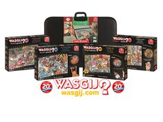a set of Wasgij puzzles sweepstakes