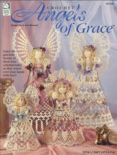 Ангелы к Рождеству. Вязание крючком (4) (431x571, 233Kb)