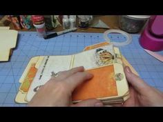 Mini file folder tutorial; Part 3 - tutorial y myserenitycrafts