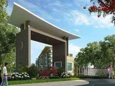 Municipal Gateway Signs with LED Front Gates, Entrance Gates, Main Entrance, Grand Entrance, Main Gate Design, Entrance Design, Gate Designs Modern, Modern House Design, Gate Images