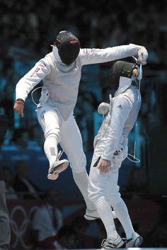 fencing london 2012