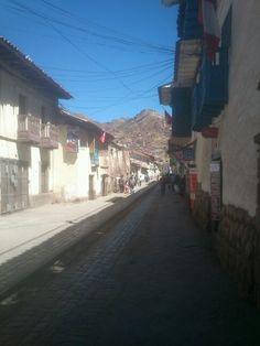 Calle en Cusco.