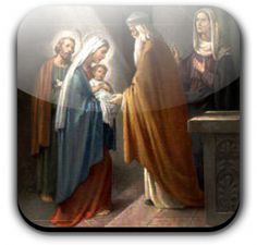 """Feast of the Presentation of the Lord - According to the Mosaic law a mother who had given birth to a man-child was considered unclean for seven days; moreover she was to remain three and thirty days """"in the blood of her purification""""; for a maid-child the time which excluded the mother from sanctuary was even doubled. When the time (forty or eighty days) was over the mother was to """"bring to the temple a lamb for a holocaust and a you"""