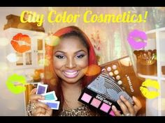 Awesome review of City Color Cosmetics products from Youtuber, Stefanie Rozenblad (Queenii Rozenblad).  Some of the products featured: Blush Quad, Timeless Beauty Palette, Cheek Stains, Shadow Primer, Matte Lipsticks, Singleton Eyeshadow #makeup #review #CityColorCosmetics #fashion #eyeshadow #lipstick #blush #love