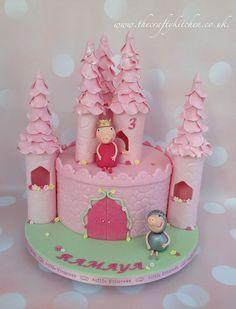 peppa pig princess cake - Buscar con Google