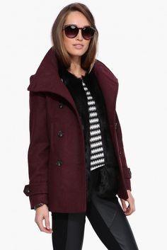 Nancy Drew Pea Coat