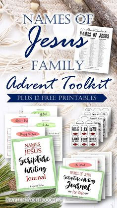 This versatile Names of Jesus Advent Calendar and Christmas Pack is the best way to prepare your family and your home for a Christ centered holiday! Advent For Kids, Advent Calendars For Kids, Kids Calendar, Christmas Activities For Families, Advent Activities, Printable Calendar Template, Free Printables, Advent Calenders, True Meaning Of Christmas