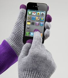Touch Screen Gloves....great gift!
