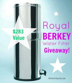 Giveaway: Berkey Water Filter ($283 Value)