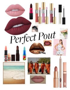 """""""The Perfect Pout"""" by mrslupinforeverx ❤ liked on Polyvore featuring beauty, Dolce Vita, Lime Crime, Gucci, Yves Saint Laurent, MAC Cosmetics, Lipsy, Laura Mercier and summerlipstick"""