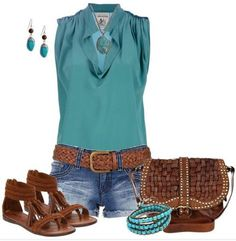 Summer Casual Shorts Outfits