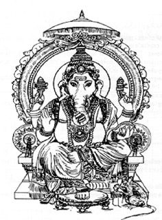 mandalas imprimer ganesh et coloriages de l inde dieu inde arth rapie pinterest. Black Bedroom Furniture Sets. Home Design Ideas