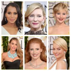 We recap all the best jewelry looks from Golden Globes.  Read about it in our blog.