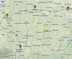 BNI Standorte im Allgäu