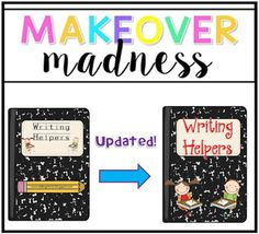 Sliding into First!: Double Blog Post! Monday Made It & Dare to Dream!, makeover madness, writing helpers, first grade, writer's workshop, 1st grade, writing, how to writing, opinion writing, personal narratives, all about books