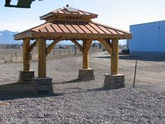 Natural log wood gazebo - rustic - patio - new york - by fairfield house & garden co. Description from file.templatespsd.net. I searched for this on bing.com/images