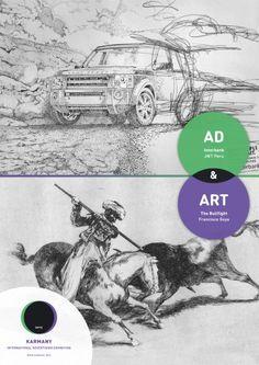"""Ad & Art""  Karmany International Advertising Exhibition  Agency: Twiga (Kiev, Ukraine)"