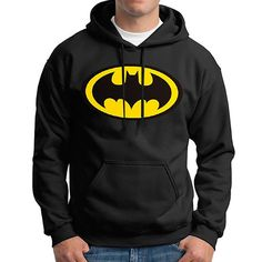 Batman Hoodie Casual Cotton Warm Sweatshirts