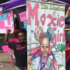 "Nixon said Moxie Girl not only made McGriff ""realize how powerful and awesome her hair is,"" but she started loving to read. ""I told her if you want to make a really good book, you have to read more books and learn different words,"" Nixon added. 