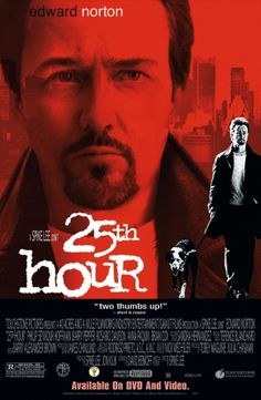 25th Hour Video release poster