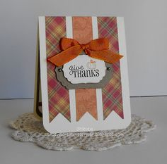 Card made by Stacey of Stacey's Creative Corner using the It's All Fall Puns stamp set from Joy's Life Stamps